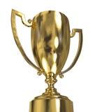 трофей чашки золотистый Стоковые Фотографии RF