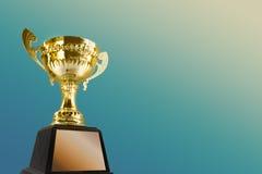 Трофей для чемпиона Стоковые Фото