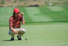 трофей 2010 турнира гольфа Азии европы королевский против Стоковое Изображение RF