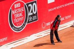 Трофей 2015 BRD Nastase Tiriac - квалификация Стоковое Изображение RF
