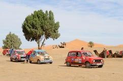трофей renault рейда 8 l4 Марокко Стоковое Изображение RF