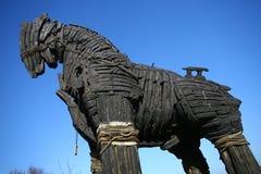 троянец лошади Стоковые Изображения
