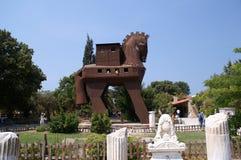 троянец лошади Стоковые Фотографии RF