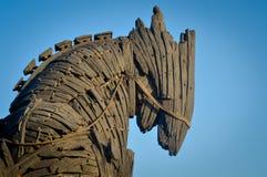 Троянская лошадь Стоковая Фотография