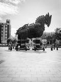 Троянская лошадь стоковые фотографии rf