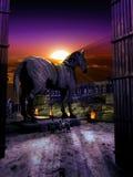 Троянская лошадь стоковое фото