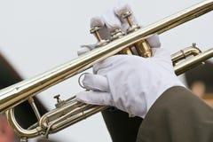 трубач Стоковое фото RF