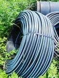 Труба водоснабжения в сельскохозяйственне угодье Стоковые Изображения RF