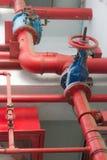 Труба водопровода в здании Стоковая Фотография RF