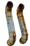 труба вытыхания старая Стоковое Фото