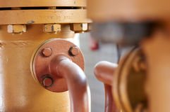 Труба газа Стоковое Изображение