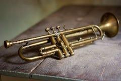 Труба джаза стоковые изображения