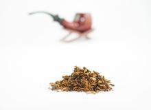 Труба и табак Стоковое Изображение RF