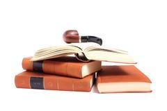 Труба книг Goethe куря стоковое изображение rf
