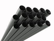 труба металла группы Стоковая Фотография