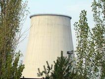 Труба термальной станции Стоковое Фото