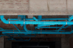Труба туалета ненужная, водосточная труба Стоковое фото RF