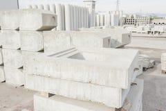 Труба цемента для строительной промышленности Стоковые Изображения RF