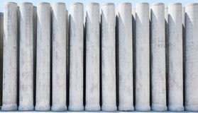 Труба цемента Стоковое Изображение