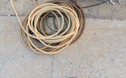 Трубка катушки резиновая Стоковое Фото