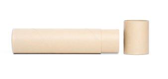 трубка коричневой бумаги Стоковые Фотографии RF
