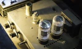 Трубка amp (усилитель) Стоковое Изображение