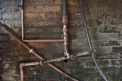 Трубки и faucet Стоковые Фото