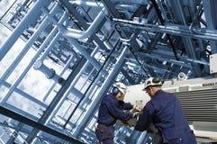 трубопровода инженеров Стоковые Изображения RF