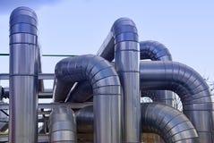 трубопровода фабрики Стоковые Изображения RF