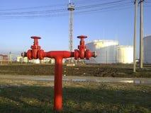 Трубопровод выхода пожарной системы Стоковая Фотография RF