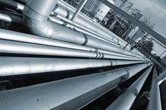 трубопровод гиганта конструкции Стоковое Изображение RF