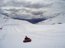 трубопровод горы Стоковое фото RF