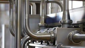Трубопровод конца завода вверх акции видеоматериалы