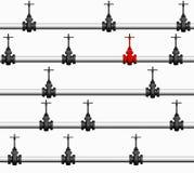 трубопровод предпосылки Стоковое Изображение RF