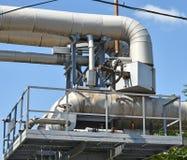 Трубопровод электростанции Стоковая Фотография RF