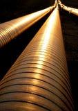 Трубопровода в свете вечера Стоковые Изображения RF