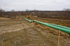 Трубопровод в Pennsyvania Стоковые Фотографии RF