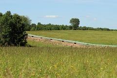 трубопровод газа естественный Стоковые Фото