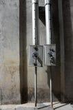 Трубопровод горячей воды Стоковая Фотография RF