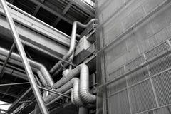 Трубопровод горячей воды Стоковые Изображения
