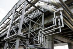 Трубопровод горячей воды Стоковые Изображения RF