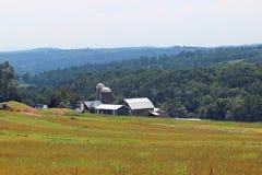 Трубопровод за фермой Стоковые Фотографии RF