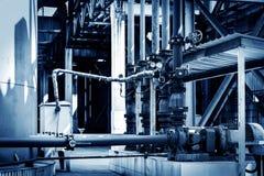 Трубопровод индустриальной зоны Стоковая Фотография RF