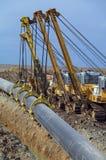 трубопровод конструкции Стоковые Фото