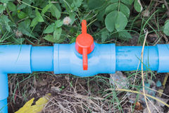 Трубопровод клапана воды Стоковое Фото