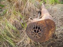 Трубопровод нагнетая аграрная старую Стоковая Фотография RF