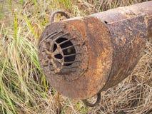 Трубопровод нагнетая аграрная старую Стоковые Изображения RF