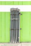 Трубопровод на стене Стоковая Фотография RF