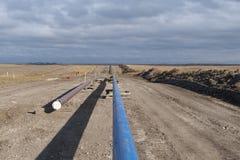 Трубопровод природного газа Стоковое Фото