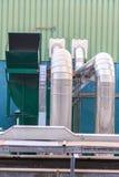 Трубопровод промышленный Стоковая Фотография RF
